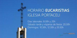Horario-Eucaristías-Iglesia